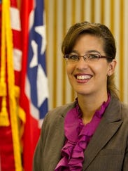Sullivan County prosecutor Theresa Nelson is shown
