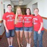 Photos: McCaughey Septuplets Attend HLGU