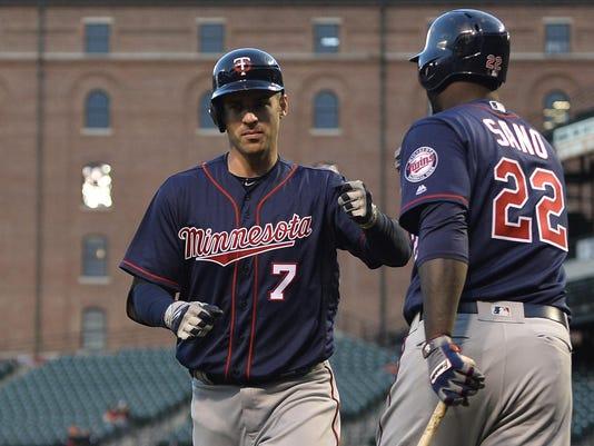 MLB: Minnesota Twins at Baltimore Orioles
