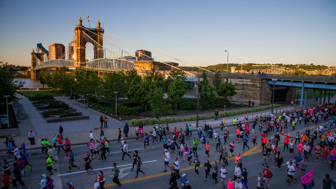 Thousands participated in the 19th annual Flying Pig Marathon last May in Cincinnati.