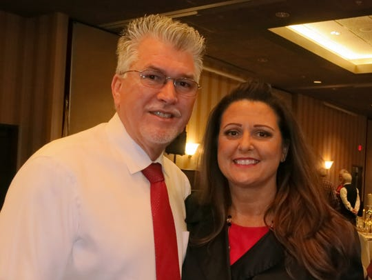 Ray and Leann French of Shasta Lake attend the Republican