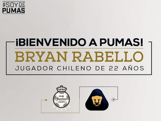 Imágen publicada por Pumas de la UNAM.