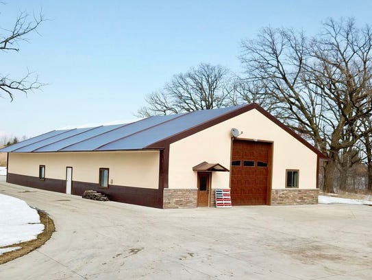 Nearly half of the shed space is heated and offers