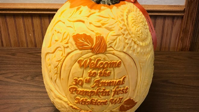File - Mishicot's Pumpkinfest is coming up this weekend.