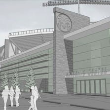 At a meeting Monday night in Fort Collins, with members from Colorado State and the community, attendees were informed CSU's Stadium Project may need to be slowed down. The target date for a Fall 2016 opening may be pushed back by a year.