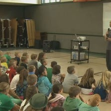 ThinkKindness assembly at Grass Valley school, Aug. 29, 2014