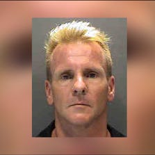 Harvey Dorey is being held on $100,000 bond at the Sarasota County Jail.