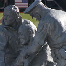 The Hillsborough County Sheriff's office unveiled a 9/11 fallen heroes memorial at 8:25 Thursday morning. That is about same time the first plane struck the first tower 13 years ago.