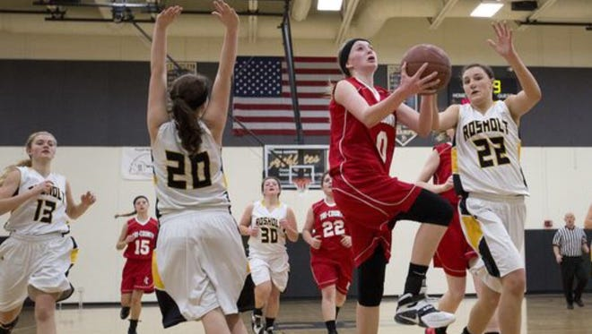 Tri-County junior Amber Baehman was named the Central Wisconsin Conference-10 girls basketball player of the year.