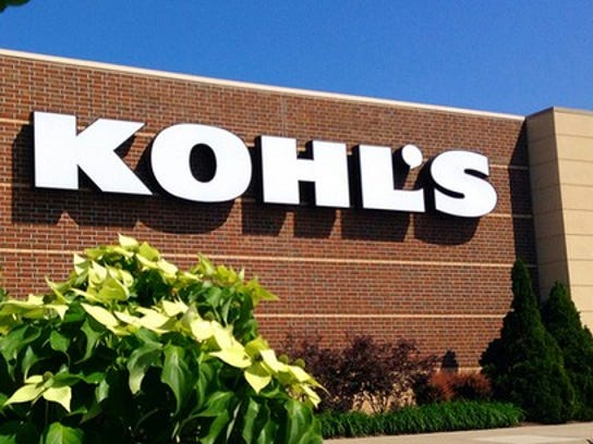Kohl's department store sign