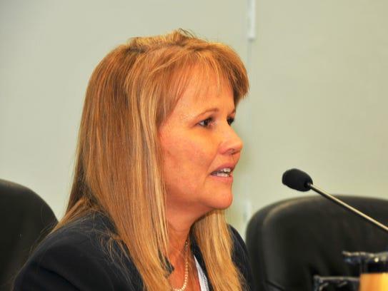 Brevard County Commission Vice Chair Rita Pritchett