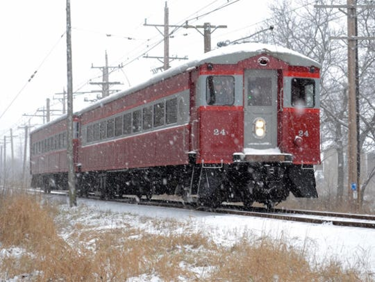 Christmas Trains at the East Troy Railroad Museum run
