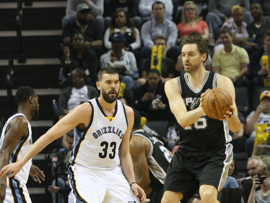 Gasol brothers  rivalry stretches from grandma s backyard to NBA ... 083511510