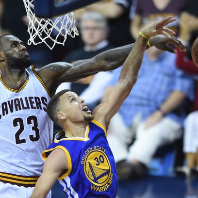 LeBron James, left, was expected to be among the greats