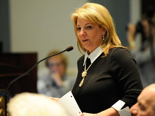 House Majority Leader Valerie Longhurst