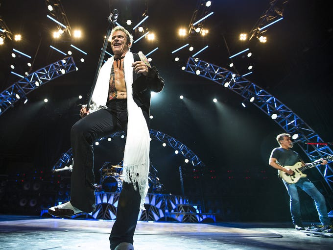 Van Halen plays to an appreciative crowd Monday night,