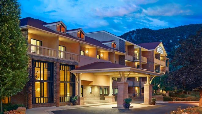 Glenwood Hot Spring Lodge in Vail, Colorado.