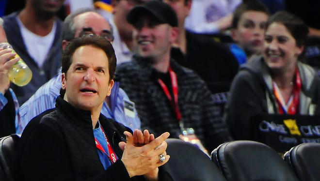 Peter Guber is a co-owner of the Golden State Warriors and L.A. Dodgers.