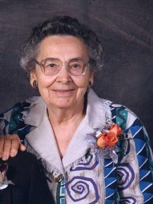 Ila M. Mintle, 103