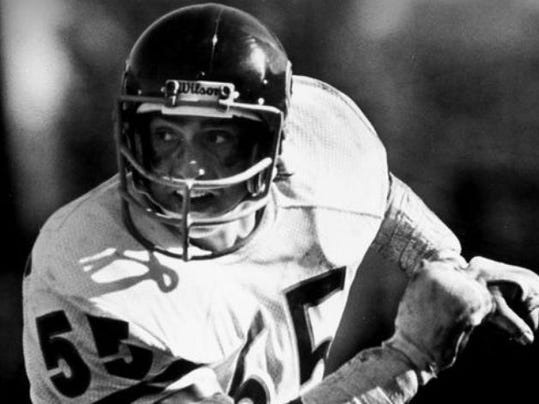 Doug Buffone played for the Chicago Bears from 1966-1979 and still holds numerous team records.