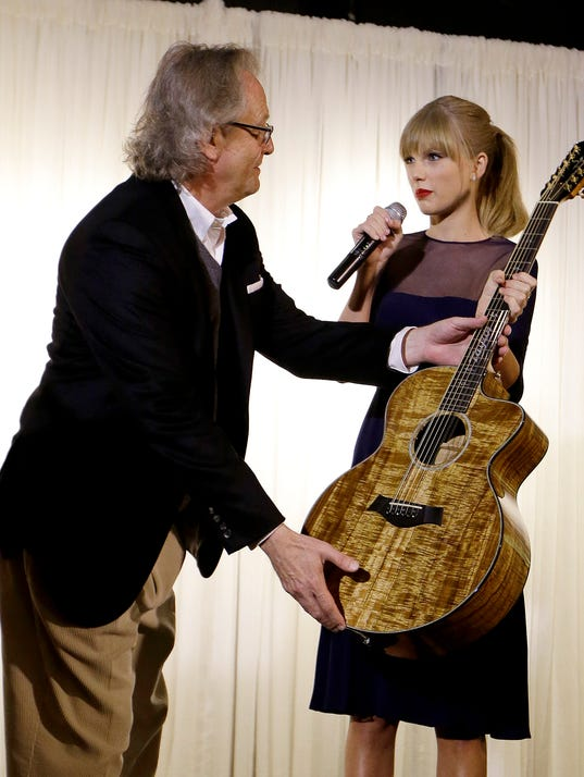 Taylor Swift at Country Hall of Fame and Museum
