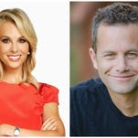 Elisabeth Hasselbeck and Kirk Cameron will co-host the K-Love Fan Awards on Sunday in Nashville.