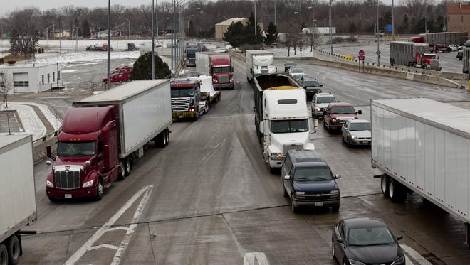 Weight restrictions are in effect on state trunklines.