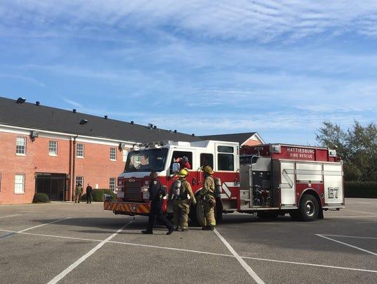Hattiesburg firefighters