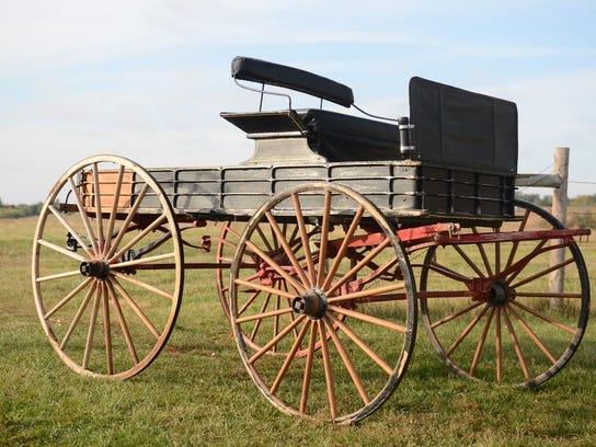 Studebaker spring wagon