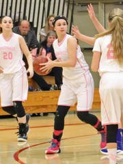 Wausaukee sophomore Courtney Messar looks to make a