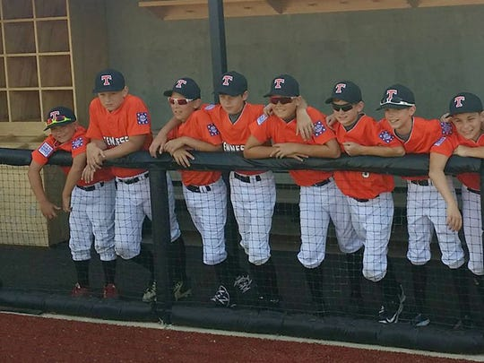 Fairview's 12U All Stars, aka Team Tennessee, at the