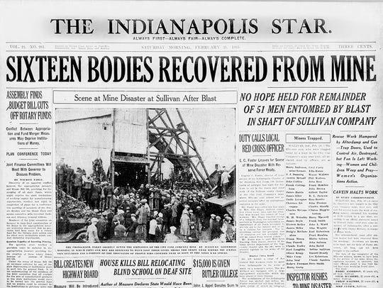 Indianapolis Star Feb. 21, 1925