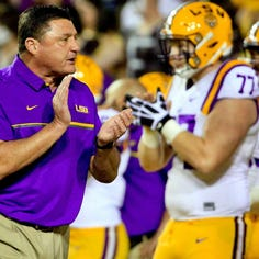 Amid questions surrounding LSU's offense, the offensive line may have the most answers