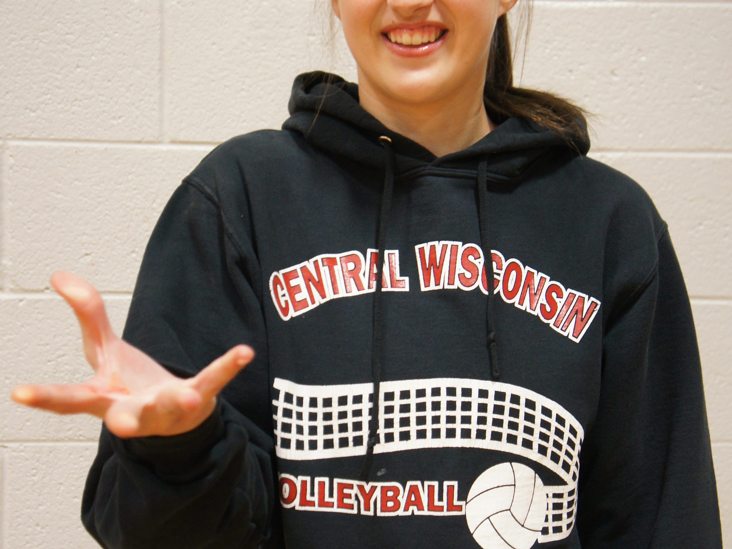 Spencer senior Marisa Johnson has been a two-sport standout for the Rockets, excelling in volleyball and softball.