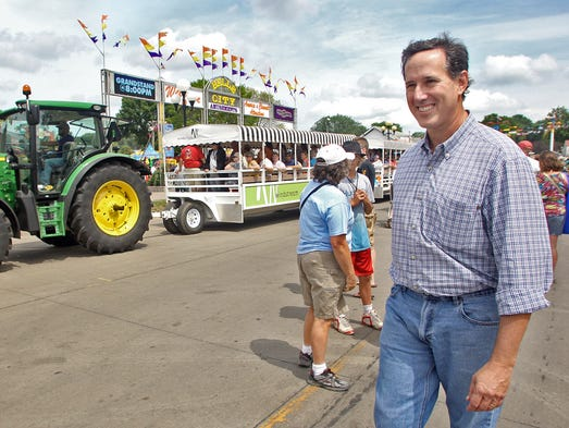 Iowa State Fair lacking in politicians this year