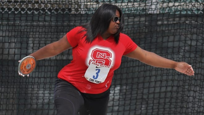 Roberson graduate SeQuoia Watkins now competes for N.C. State.