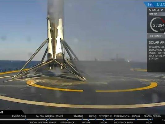 SpaceX landing