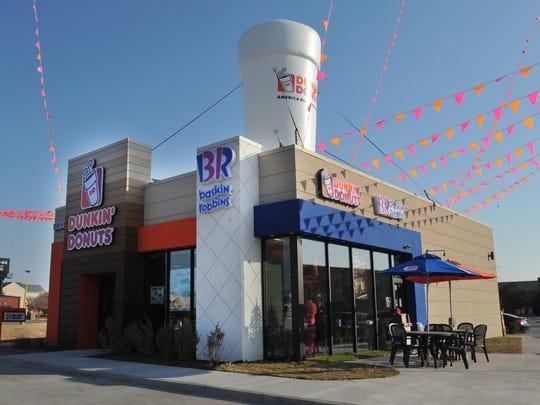 Dunkin' Donuts/Baskin Robbins celebrated its grand
