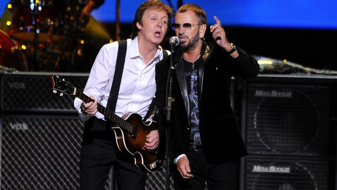 Paul McCartney will induct former bandmate Ringo Starr into the Rock and Roll Hall of Fame. Starr is the last of the Beatles to be inducted as a solo artist.