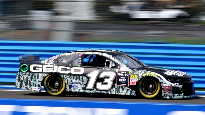 """GEICO will share major """"Premier Partner"""" NASCAR Cup sponsorship for 2020, which is part of a new business model by the nation's number one sanctioning body. Captured here at Watkins Glen last year is the GEICO Chevrolet, driven by Ty Dillon."""