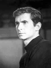 Anthony Perkins starred as killer Norman Bates in Alfred