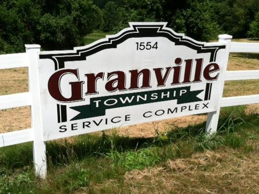 GRA Granville Township sign stock