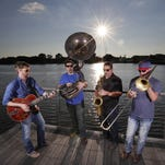 Brass Differential's tuba, er, sousaphone steals the show