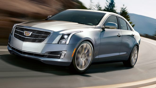 The 2015 Cadillac ATS gets some updates.