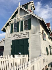 The Ocean City Life-Saving Station is located on the