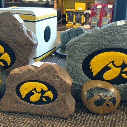 Hawkeye fan gear will be available at the Black & Gold shop