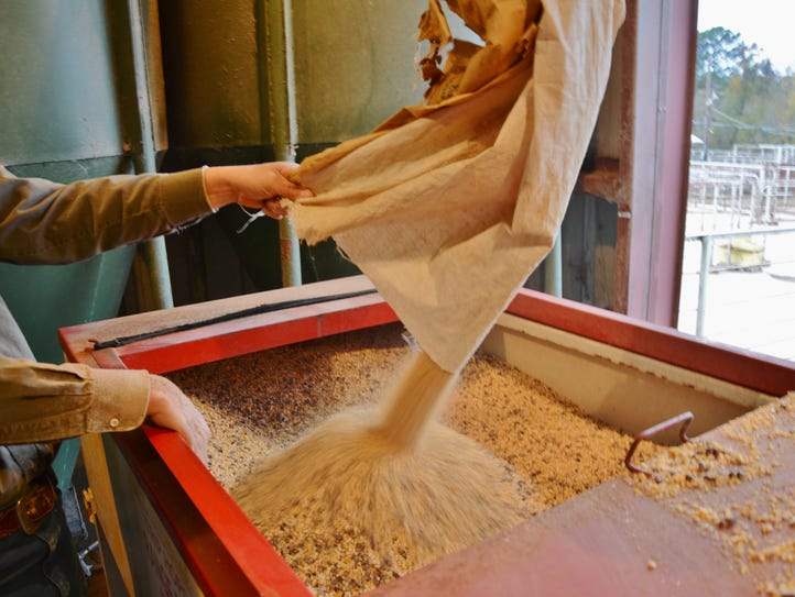 Low grain prices could mean lower feed prices for livestock
