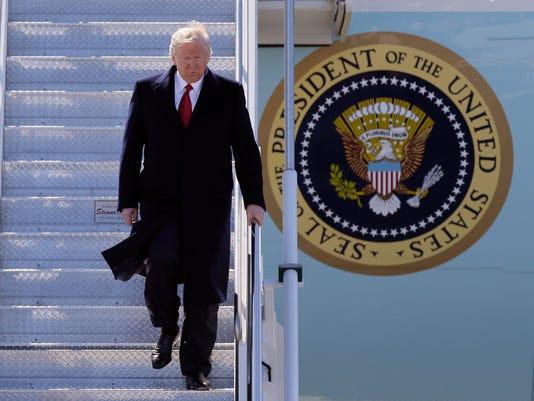 AP PRESIDENT TRUMP A USA MI