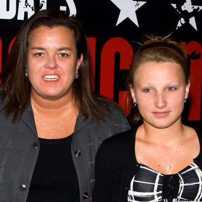 In this 2010 file photo, Chelsea O'Donnell (right)