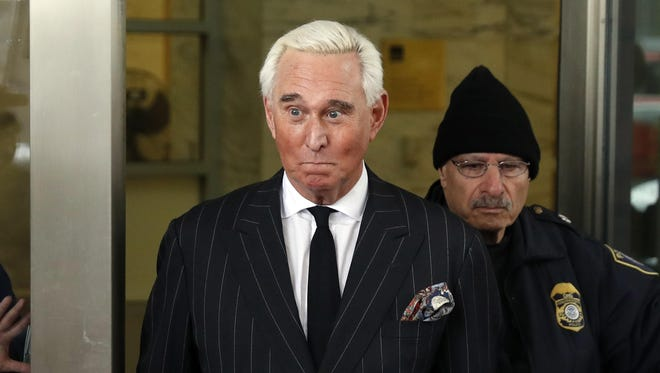 Former campaign adviser for President Donald Trump Roger Stone